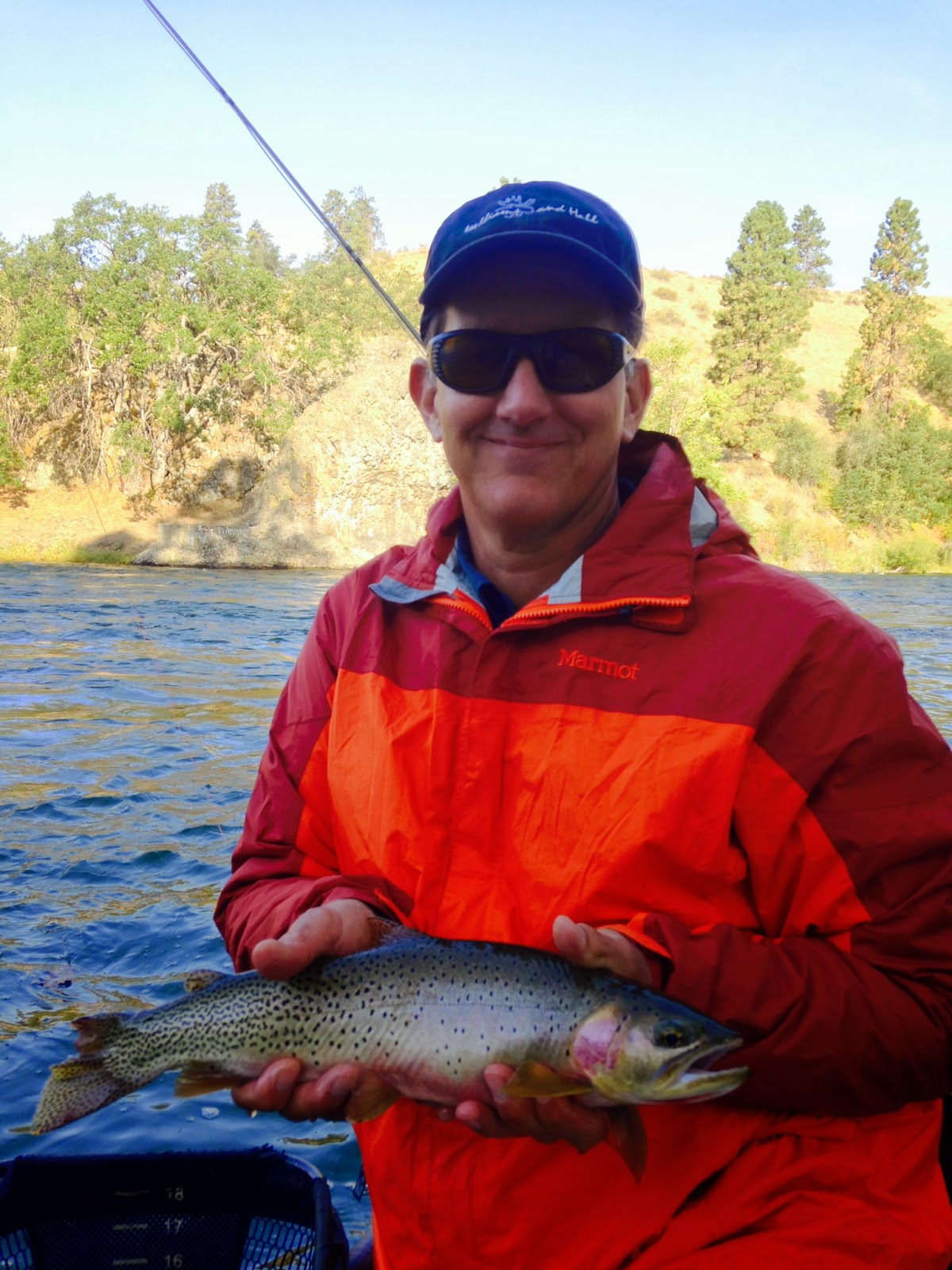 Yakima river fishing report 8 11 14 the evening hatch for Fishing forecast oklahoma