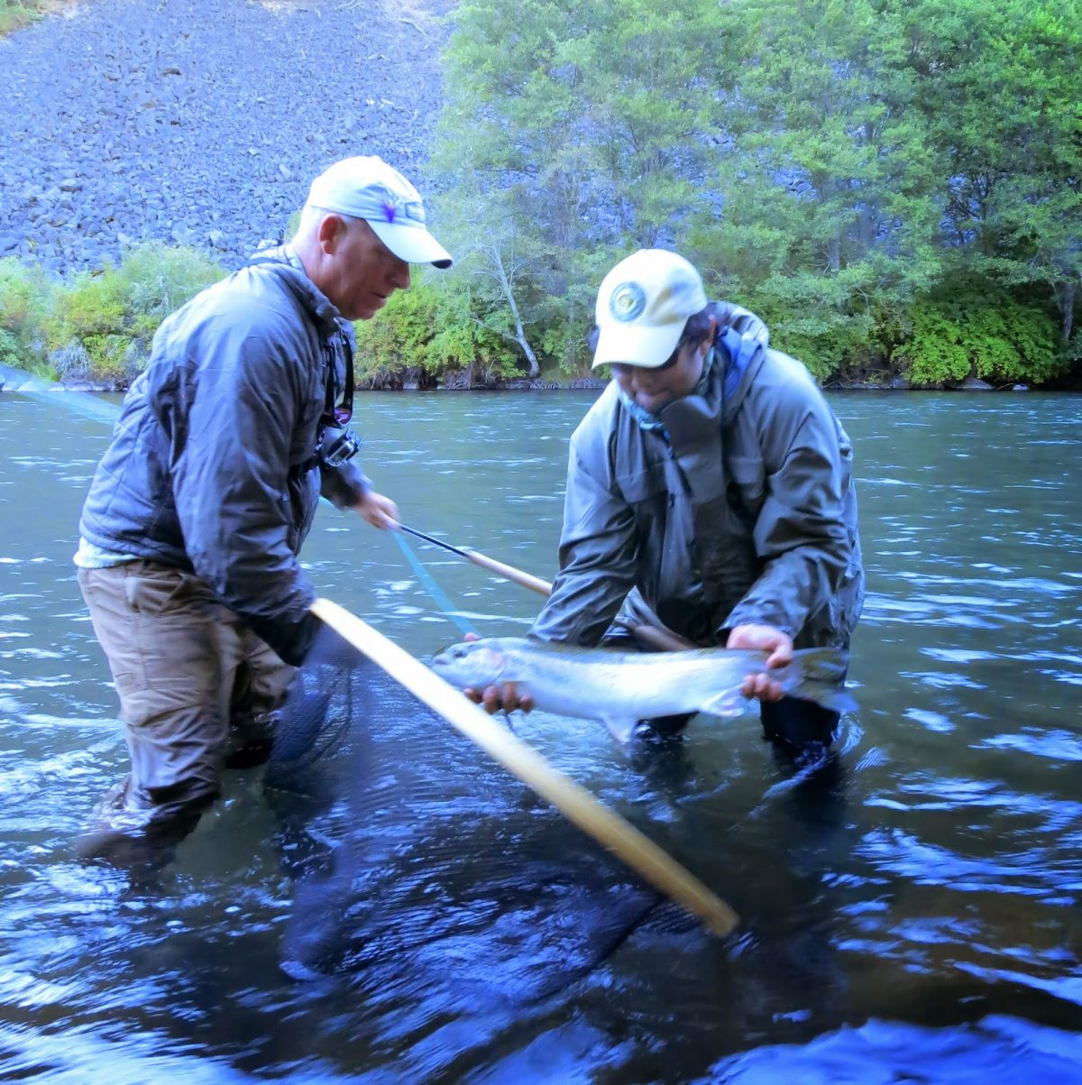 Klickitat river report 9 4 14 the evening hatch for Klickitat river fishing report