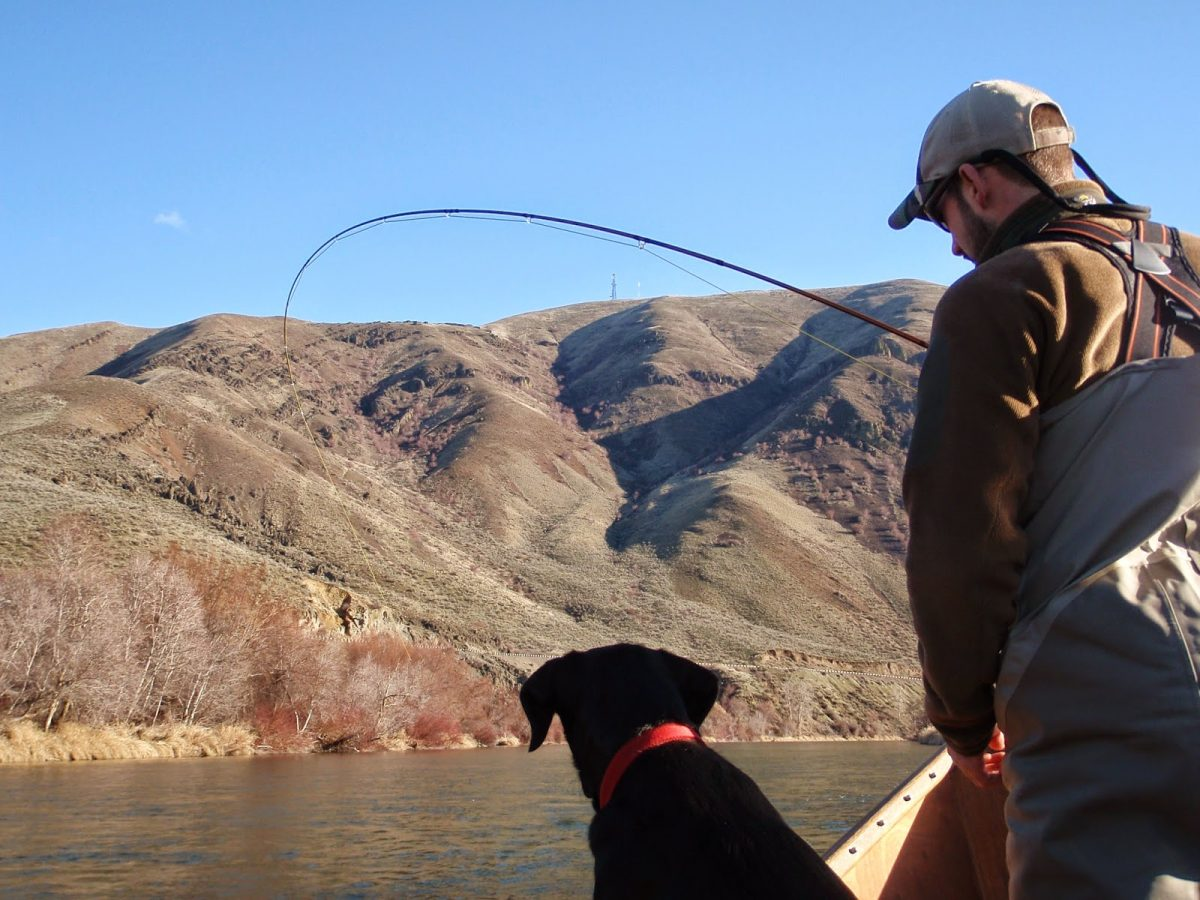 YAKIMA WINTER FISHING