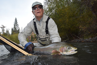 KLICKITAT RIVER REPORT – 10/18/15
