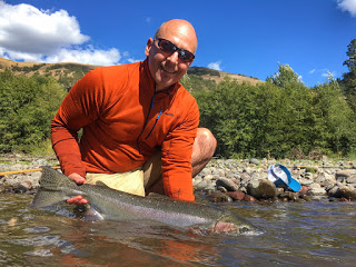 KLICKITAT RIVER REPORT / THE STEELHEAD RANCH – 9/4/16
