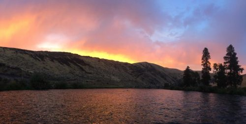 Yakima Fall Sunset
