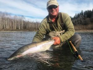OP Steelhead fishing