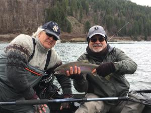 Upper Columbia trout fishing