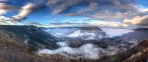 Klickitat canyon Panoramic