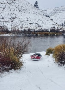 Yakima winter boat launch