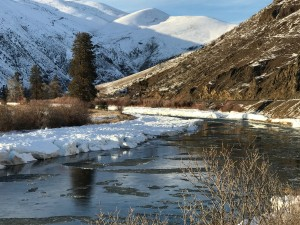 Yakima River Ice Flow